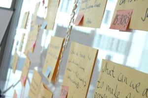Viele Ideen im Raum