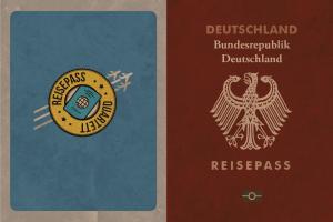 carte de jeu Allemagne