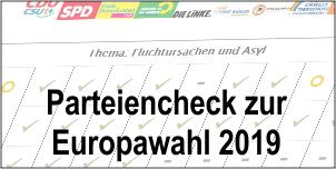 Parteiencheck zur Europawahl 2019