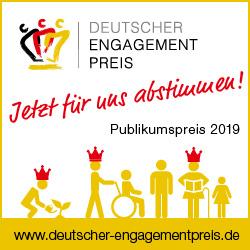 Stimmen für das Reisepassquartett beim Deutschen Engagementpreis