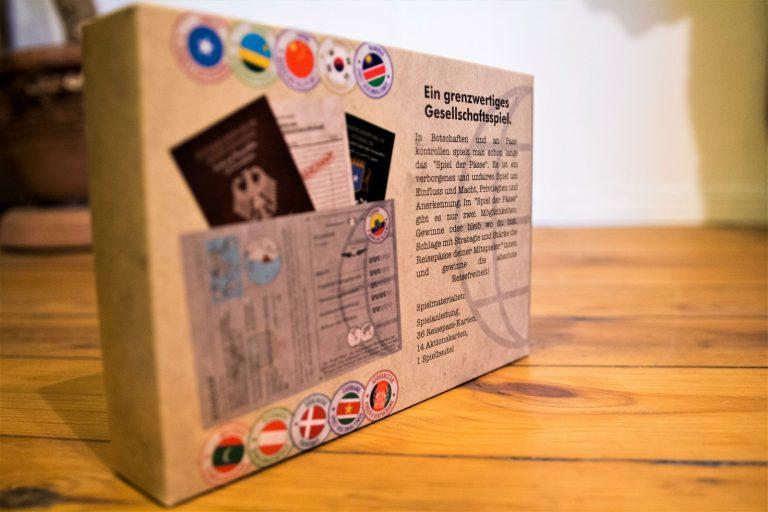 Rückseite der Packung - Spielbeschreibung